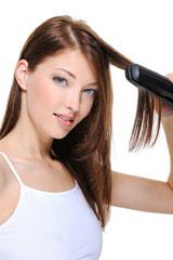 Straightening Hair Picture